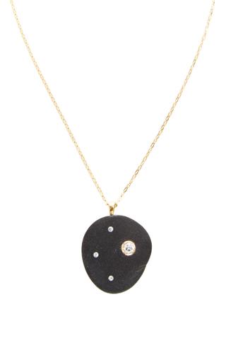 Medium cvc stones black one of a kind necochea necklace