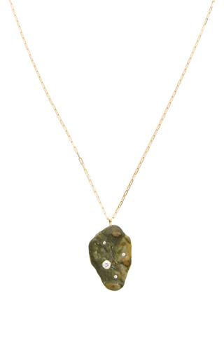 Medium cvc stones black one of a kind dark matter necklace