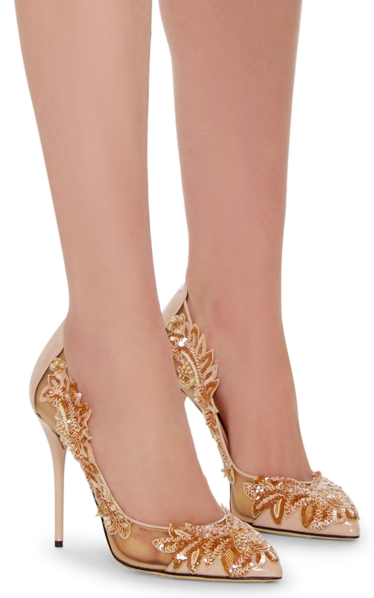 b2eb3204a89e Oscar de la RentaAlyssa Embroidered Pumps. CLOSE. Loading