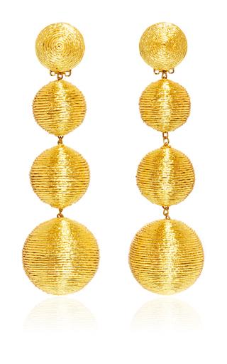 Medium rebecca de ravenel gold les bonbons earrings  6