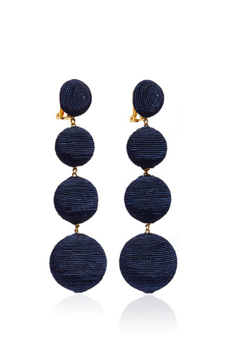 Les Bonbons Earrings  by REBECCA DE RAVENEL Now Available on Moda Operandi