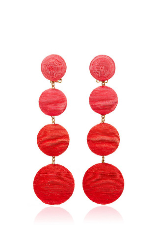 Medium rebecca de ravenel pink les bonbons earrings