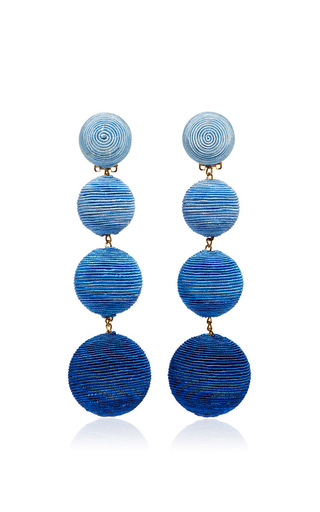 Medium rebecca de ravenel blue les bonbons earrings  2