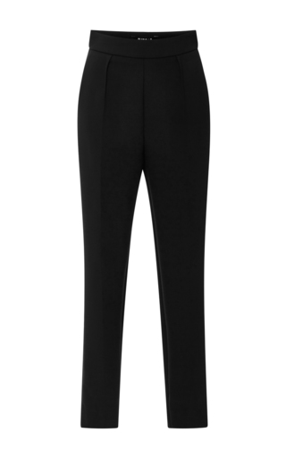 Medium paule ka black high waisted trousers