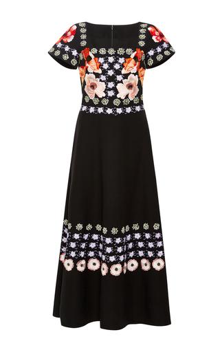 Medium temperley london black sylvie embroidered dress