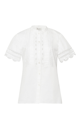 Medium temperley london white bellanca shirt