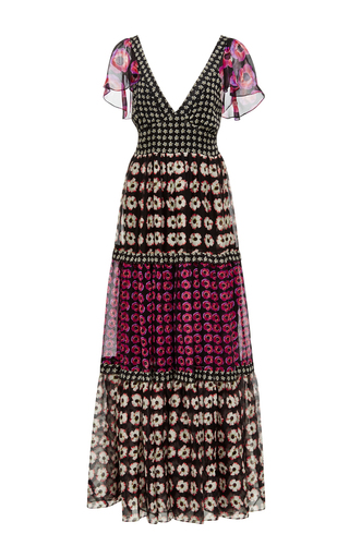 Medium temperley london black clarion dress