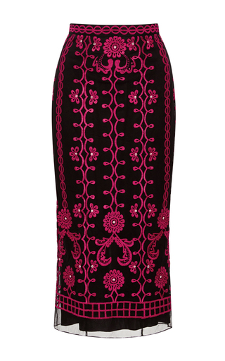 Medium temperley london black evadine skirt
