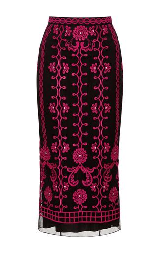 Medium temperley london black evadine skirt