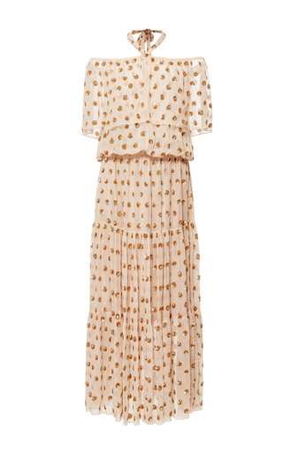 Medium temperley london light pink vintage rose jolie dress