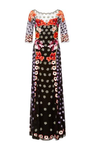 Medium temperley london black long sylvie dress