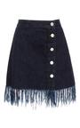 Ws Asymmetrical Fringed Skirt by 3X1 Now Available on Moda Operandi