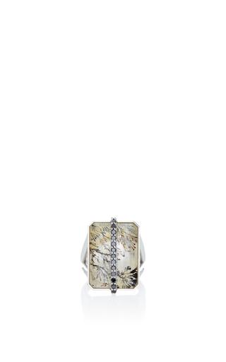 Medium laura pierson multi mod dendritic quartz ring