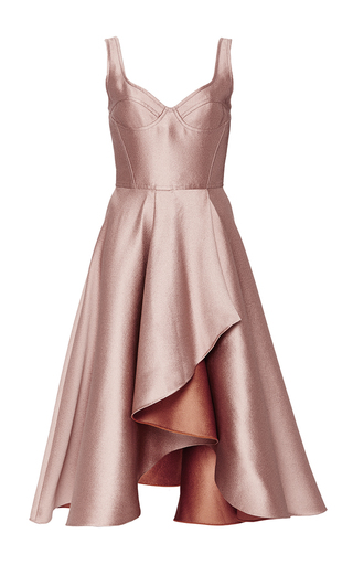 Medium jason wu pink evening double face sleeveless dress