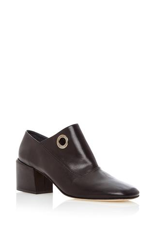 Medium tibi black marlow calf leather shoe