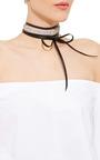Monarch 100 Stone Wrap Choker by FALLON Now Available on Moda Operandi