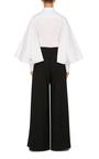 Oversized Sleeve Button Up Blouse by ZAC POSEN Now Available on Moda Operandi