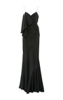 Silk Charmeuse Gown by ZAC POSEN Now Available on Moda Operandi