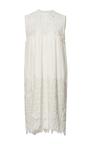 Cream Embroidered Sleeveless Dress by SEA Now Available on Moda Operandi