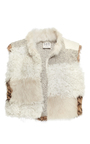 Patchwork Fur Vest by SEA Now Available on Moda Operandi