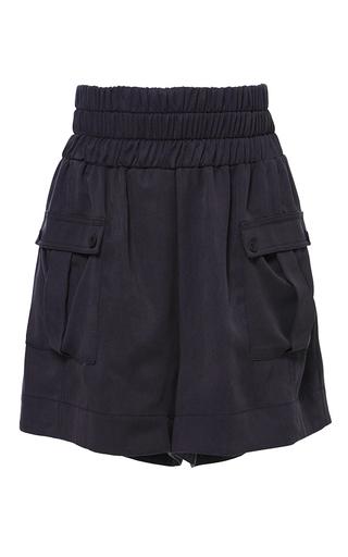 Medium sea navy cargo shorts