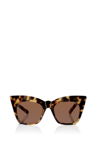 Medium pared eyewear brown kohl kaftans cat eye sunglasses