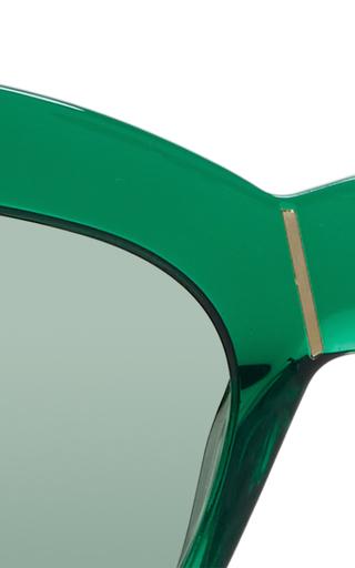 Kohl & Kaftans Cat Eye Sunglasse by PARED EYEWEAR Now Available on Moda Operandi