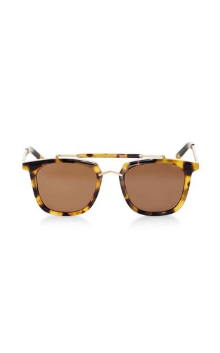Medium pared eyewear brown camels caravans sunglasses