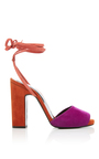 Loulou Suede Sandals by PIERRE HARDY Now Available on Moda Operandi