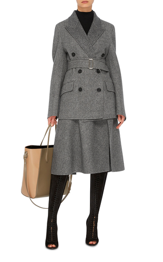 Double Breasted Wool Coat by ROCHAS Now Available on Moda Operandi