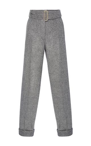 Medium rochas dark grey wool slim pant
