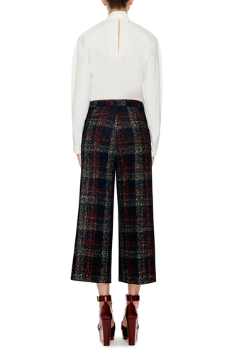 Checked Alpaca Wool Pant by ROCHAS Now Available on Moda Operandi