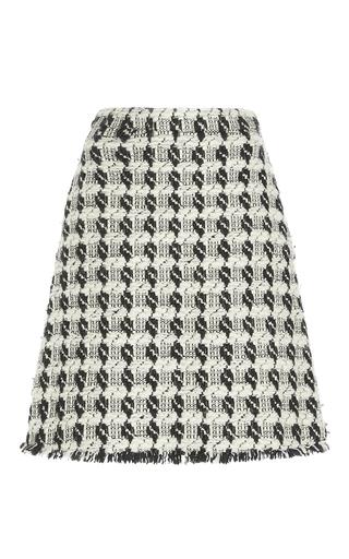 Medium rochas multi tweed wool mini skirt