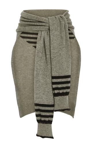 Medium sonia rykiel dark grey wool cashmere half sweater