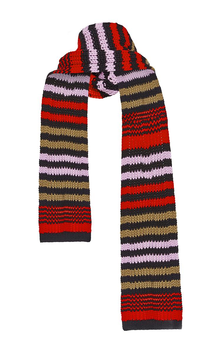 615c17365b Sonia RykielStriped Knit Wool Scarf. CLOSE. Loading. Loading