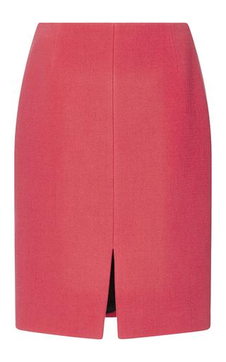 Medium sonia rykiel pink spongy wool crepe pencil skirt
