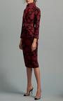 Floral Wool Pencil Skirt by OSCAR DE LA RENTA Now Available on Moda Operandi