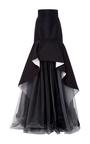 Silk Faille Double Face Skirt by OSCAR DE LA RENTA Now Available on Moda Operandi