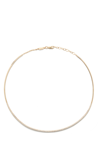 Diamond Collar by AZLEE Now Available on Moda Operandi