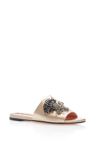 Medium rochas nude bonita embellished slides