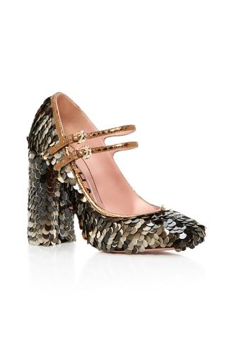 Medium rochas multi enea sequined mary jane heels