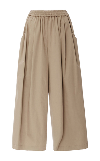 Medium tome khaki sateen karate cullottes