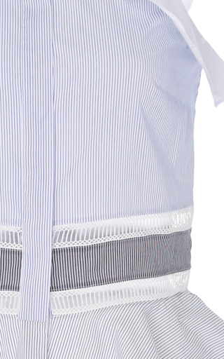 Sleevelss Ruffle Blouse by JONATHAN SIMKHAI Now Available on Moda Operandi