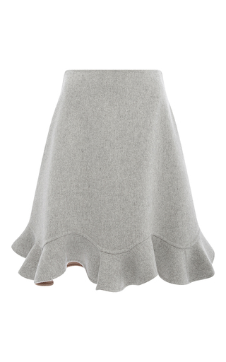 Medium mary katrantzou light grey larimar skirt