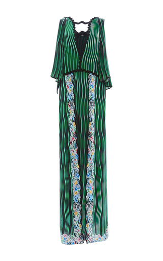 Medium mary katrantzou green fairnburn dress