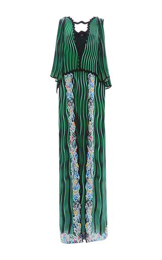 Medium mary katrantzou green fairnburn dress