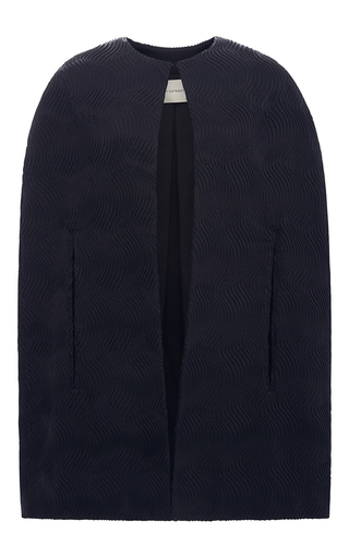 Medium mary katrantzou black opal cape