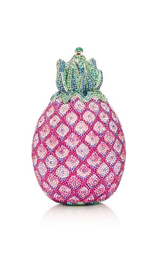 Medium judith leiber pink sugar loaf pineapple