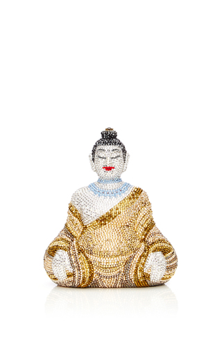 Medium judith leiber yellow gautama buddha