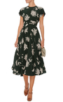 Floral Printed Dress by ROCHAS Now Available on Moda Operandi